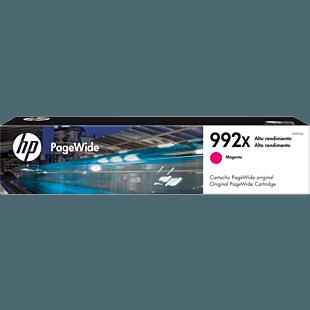 Cartucho de Tinta HP 992X Magenta Alta Capacidad PageWide Original