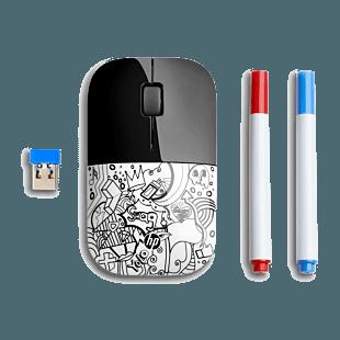 Mouse HP Z3700 Inalámbrico Para Colorear